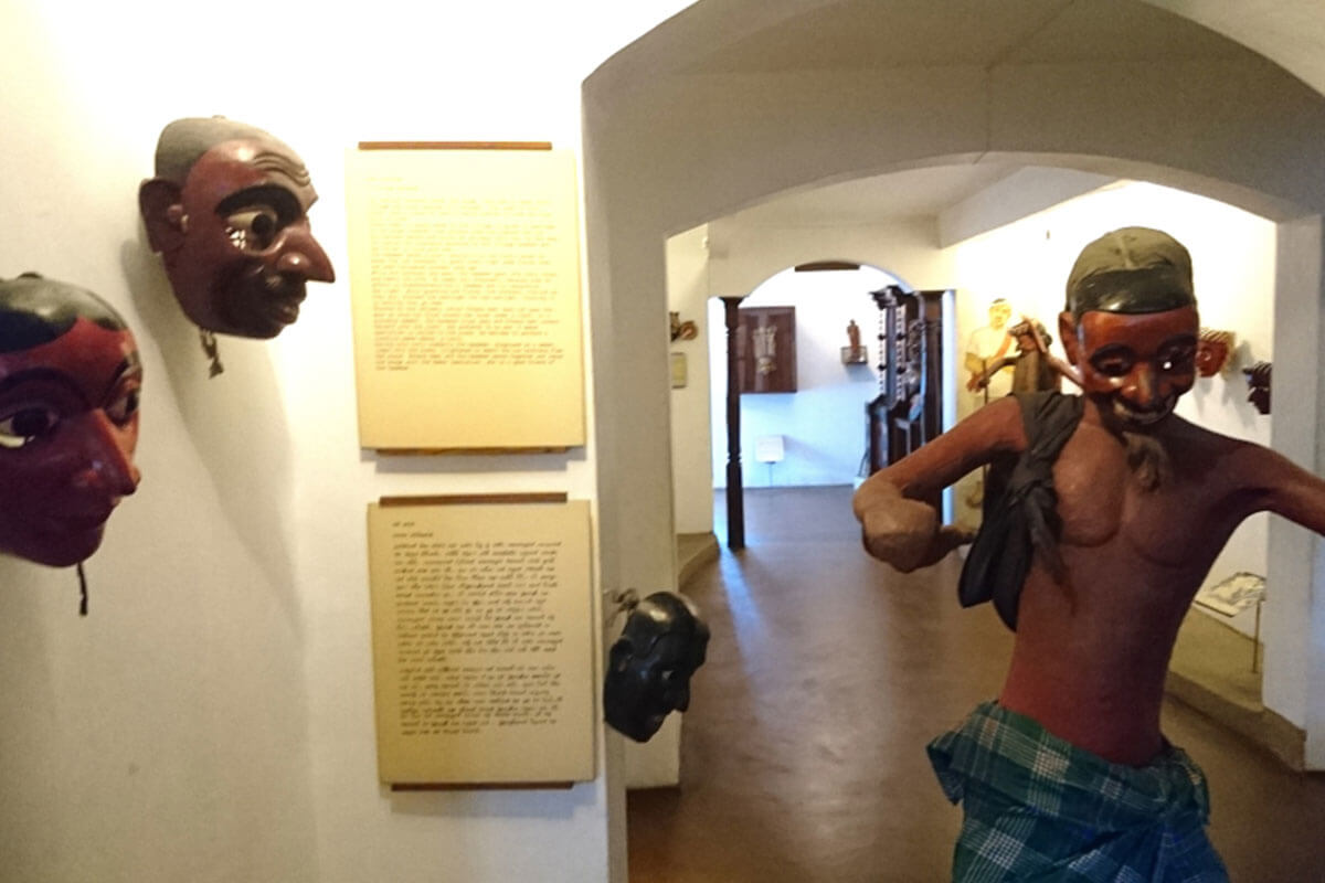The Ambalangoda Mask Museum