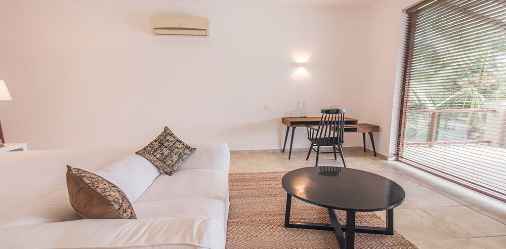 Serendipity_Hotels_double room with private balcony at villa thuya